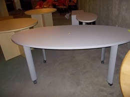 "5' x 30"" Mobile Laminate Conference Table"