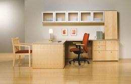 Wood Contemporary Desk