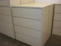 Herman Miller 4 drawer lateral files