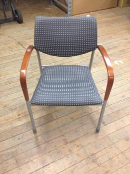 Gunlock Molti Side Chairs- Gray Fabric