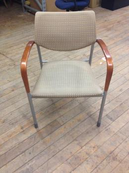 Gunlock Molti Side Chairs- Beige Fabric