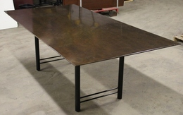 Walnut Rectangle Conference Table