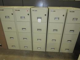 Sentry Fireproof vertical Filing Cabinets