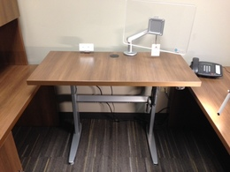 Height Adjustable Work Surfaces