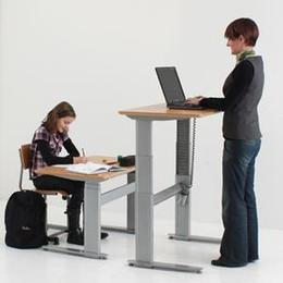 Conset Adj. Height Sit to Stand Desks