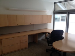 Steelcase Maple Wood Office Suite