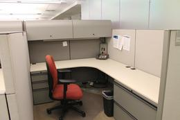 Used Knoll Morrison 6x8, 8x8 Workstations