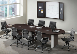 14 foot Oval Racetrack Conference Table