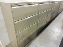Knoll 4 drawer laterals