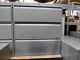 Knoll 3 Drawer Lateral File