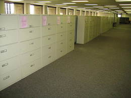 "5 drawer steelcase lateral files 36""Wide"