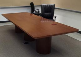 10ft veneer conference table