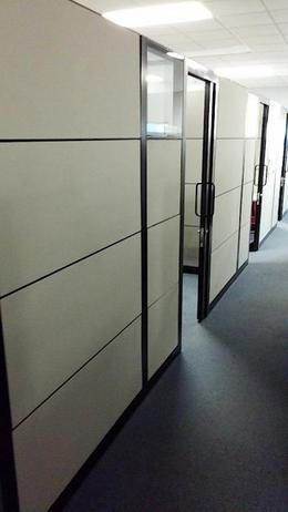 thumb & Used Office Cubicles : Steelcase Montage Cubicle Offices w/ Doors ...