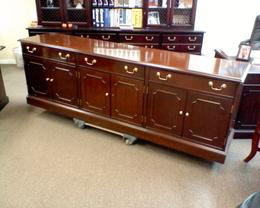Councill Credenza and Conference Table
