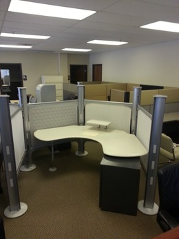 Used Herman Miller Resolve Office Cubicles