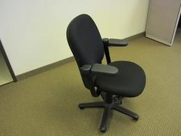 Steelcase Drive Chair W/ Black Fabric