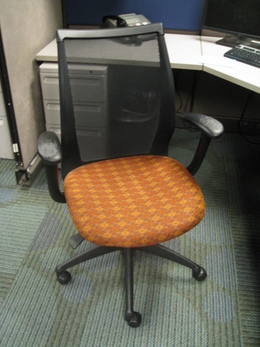 Mesh Back Haworth Tag Chairs