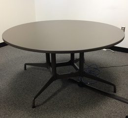 5' Herman Miller round table
