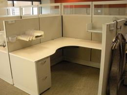 Herman Miller 6x6 Cubicles With Glass
