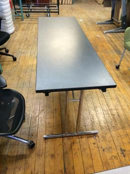 2 x 6 Gray Laminate Training Table