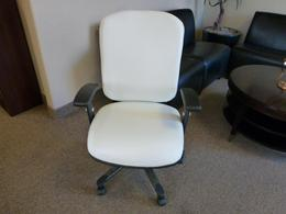 Alera Multifunction Mid Back White Chair