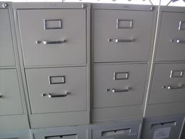 Two Drawer Vertical Files
