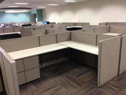 Refurbished Steelcase Workstations