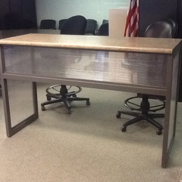 Counter Height Reclaimed Table