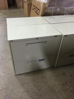 "Global 30 "" 2 Drawer Lateral FIle Putty DPT"