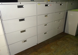 HON 4-Drawer Lateral Files