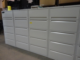 Steelcase 5-Drawer Lateral Files