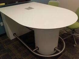 Custom Counter Height Table with Power