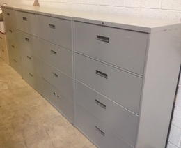 Steelcase 4-Drawer Lateral Files