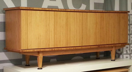 Bamboo Credenza - Mad Men Inspired