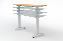 Sit to Stand Adjustable Desk