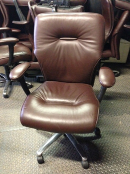 BRAYTON EXECUTIVE LEATHER CHAIR