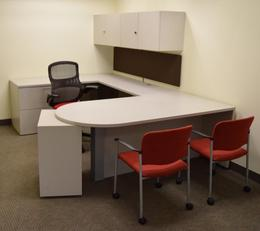 Kimball U-Shaped Private Office