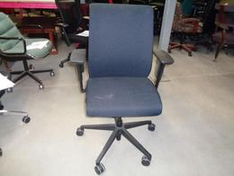 Black Steelcase Task Chairs