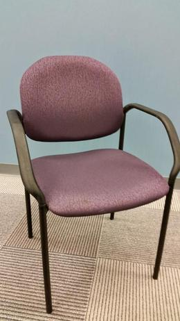 Sit On It Swirl Side Chair-Purple