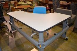 KNOLL ADJUSTABLE HEIGHT TABLES