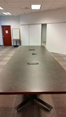 Versteel Brattice Used Conference Table