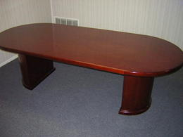 Marquis Veneer Racetrack Conference Tables