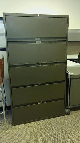 Steelcase 900 Series 5 Drawer Laterals