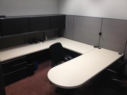 Large Knoll Manager Cubicles