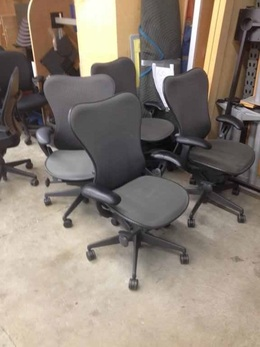 Herman Miller Mirra Chairs