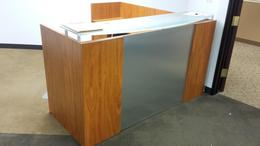 Reception Desk and Lounge Furniture