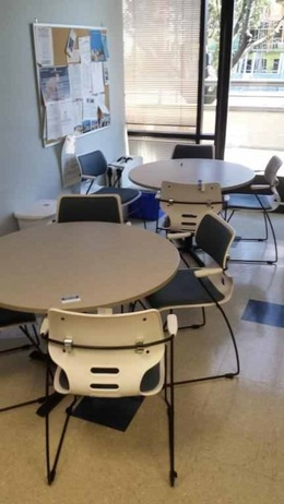 Lunchroom Table and Chairs