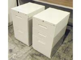 Maxon Hon 2 or 3 Drawer Mobile Files Putty FI