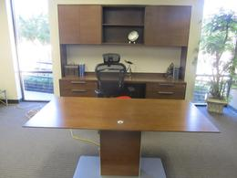 Darran executive suite with sit stand desk