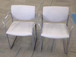 Steelcase Player Side Chair - Light Gray